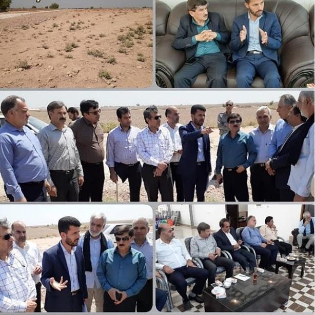 جلسه پیگیری تخصیص زمین ویژه دام در شهر امام دزفول برگزار شد