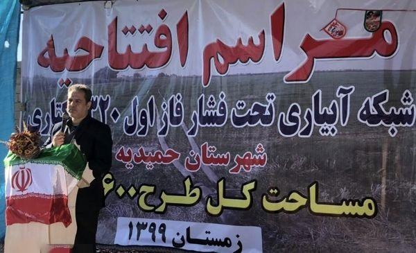 وزیر جهاد کشاورزی خبر داد: افزایش ۳.۵ میلیون تنی تولید محصولات کشاورزی با اجرای فاز اول طرح احیای اراضی خوزستان